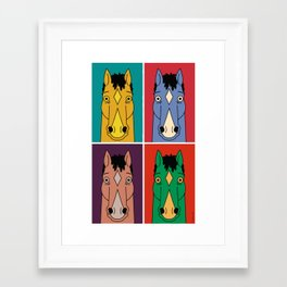 PopJack Framed Art Print
