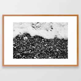 Pebbles of the Beach Framed Art Print