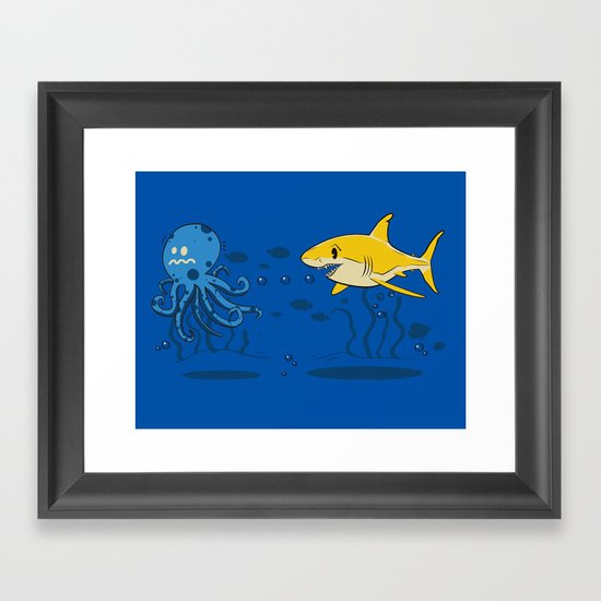 Nature of the Game Framed Art Print