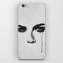 Black Tears iPhone Skin