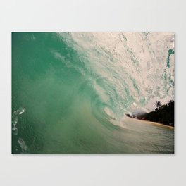 Blurred Lines Canvas Print