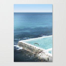 Bondi Icebergs 03 Canvas Print