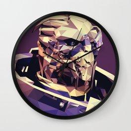 Facets of Garrus Wall Clock