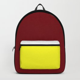 Team Colors 6....Maroon,yellow Backpack