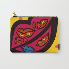 BLUE LIP PF MY LIPS Carry-All Pouch