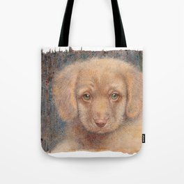 Retriever puppy Tote Bag