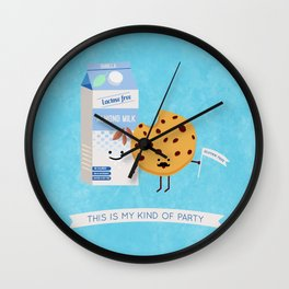 Milk and Cookie Wall Clock