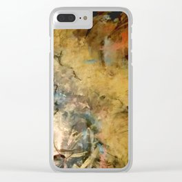 Gold Rush Clear iPhone Case
