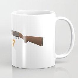 Pump-Action Shotgun Coffee Mug
