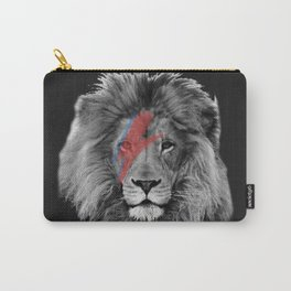David Bowie Lion Carry-All Pouch