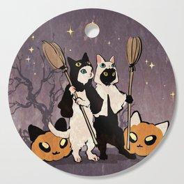 halloween cats Cutting Board