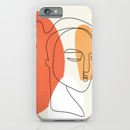 Abstract Face 24 iPhone Case