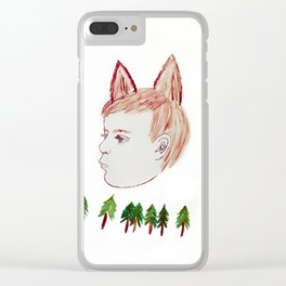 Wild Things Clear iPhone Case