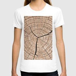 Tree trunk T-shirt