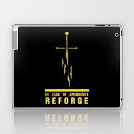 In case of emergency reforge Laptop & iPad Skin