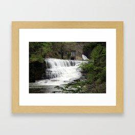 Ithaca Waterfall 2 Framed Art Print