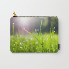 Dew drops in the morning Carry-All Pouch