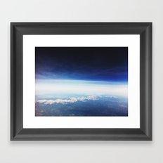 horizon . ii Framed Art Print