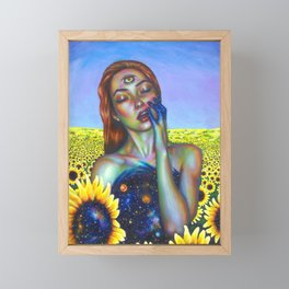 Outer and inner suns Framed Mini Art Print