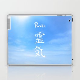 Sacred geometry. Reiki symbol. The word Reiki is made up of two Japanese words, Rei means 'Universal Laptop & iPad Skin