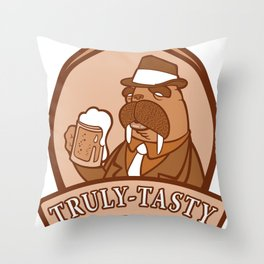Holy Beer Throw Pillow