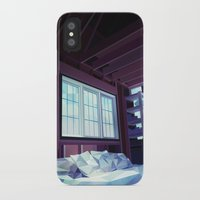 cabin iPhone & iPod Cases featuring Cabin by Kiana