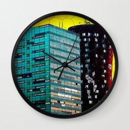 Gran Via Sunset Wall Clock
