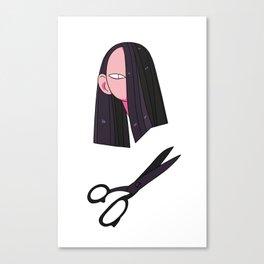 snip snip Canvas Print