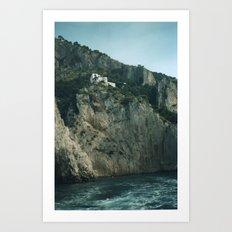 Capri 4 Art Print