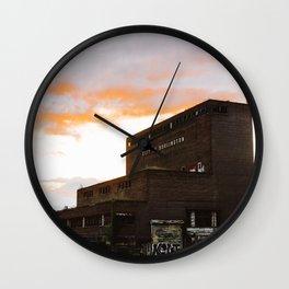 City of Burlington Wall Clock