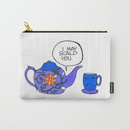 Tea Issues - Tissues Carry-All Pouch