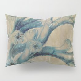 Blue Coral Pillow Sham