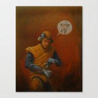 megaman Canvas Prints featuring megaman? by Blake Wheeler