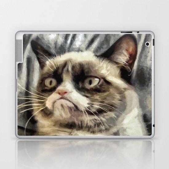 Mr Grumpy Cat Laptop & iPad Skin