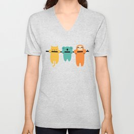 Hang In There Unisex V-Neck