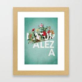 Naturaleza Framed Art Print