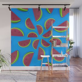 Watermelon Chew Candy Wall Mural