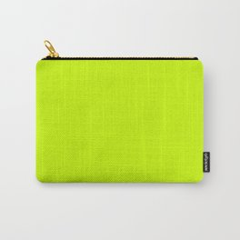 Bright green lime neon color Carry-All Pouch