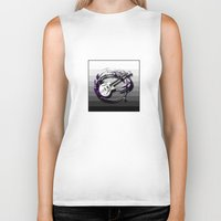 bass Biker Tanks featuring Music - Bass by yahtz designs
