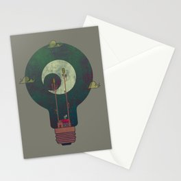 Nocturnal Pondering Stationery Cards