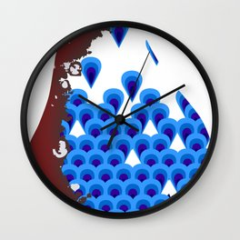 The Pear Wall Clock