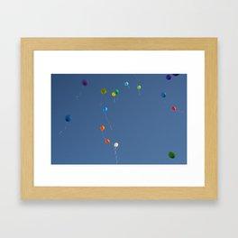 Angel's Birthday Framed Art Print