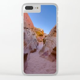 Colorful Canyon, Valley of Fire State Park Clear iPhone Case