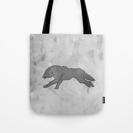 Wolf Banner Tote Bag
