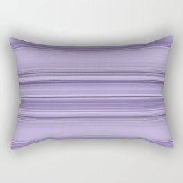 Pantone Purple Stripe Design Rectangular Pillow