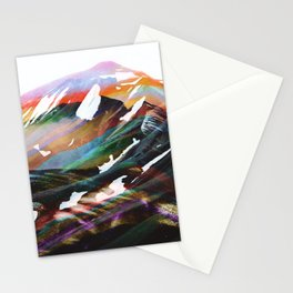 Abstract Mountains II Stationery Cards