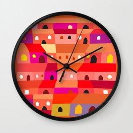 Guatemala City for Beginners Wall Clock