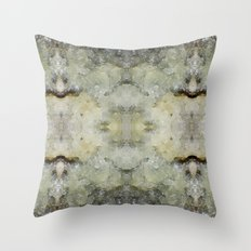 Abstract marble pattern Throw Pillow