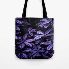 Stillness, Botanical Plants Leaves Tote Bag