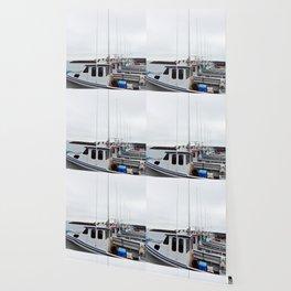 Lobster Boat Line-up Wallpaper